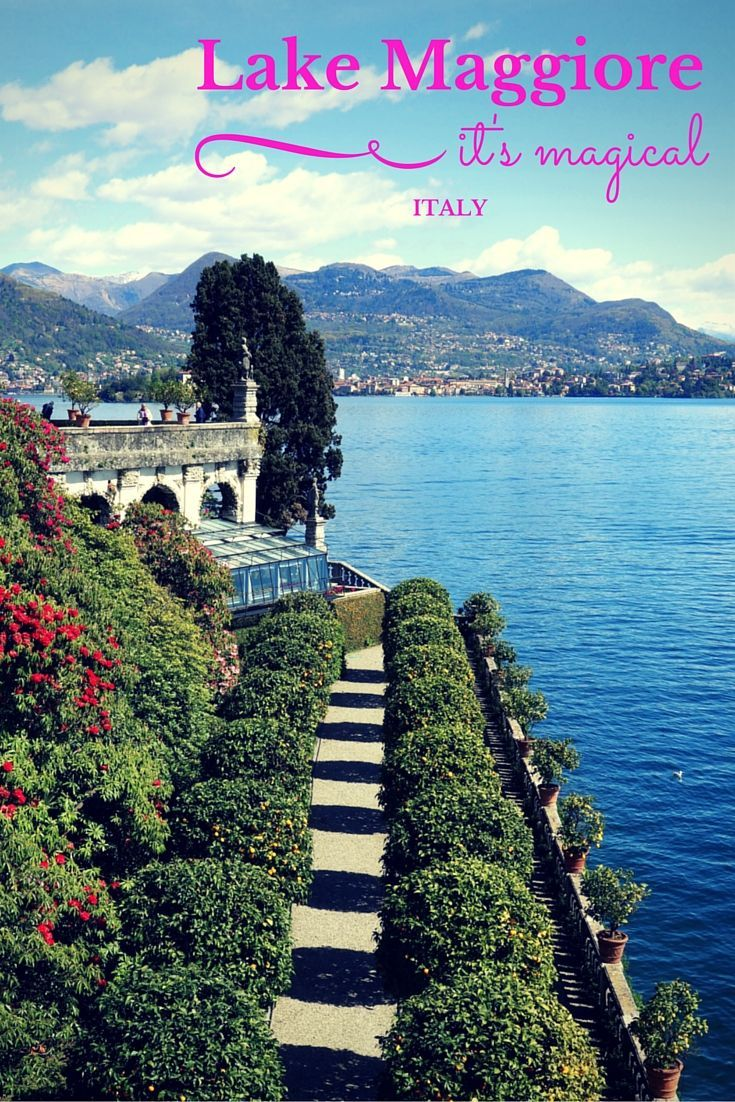 There's something about Lake Maggiore in the Piedmont