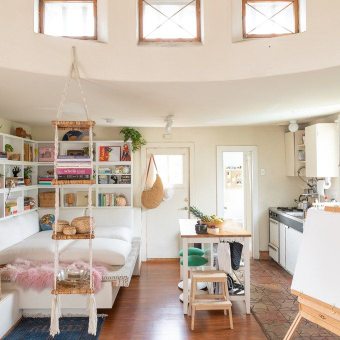 Decorating Smallspace Kitchen: This Magical L.A. Studio Apartment Has A Dome In The