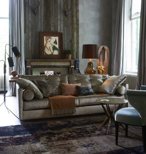 Winter woontrend love luxury comfortabele luxe interieur voor een modern klassieke inrichting - Interieur inrichting moderne woonkamer ...