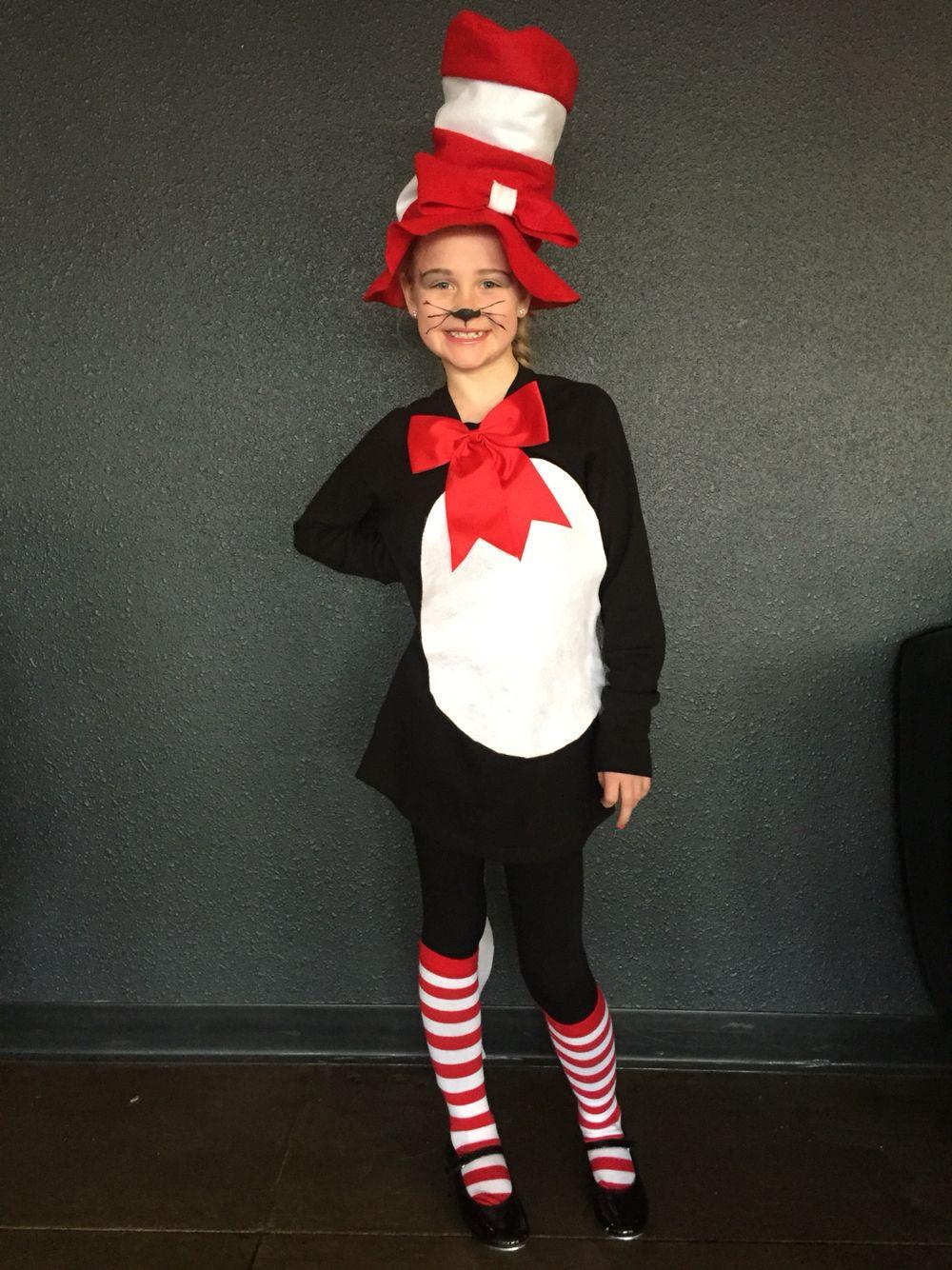 Cat in the Hat Socks Dr Seuss Fancy Dress Halloween Adult Costume Accessory