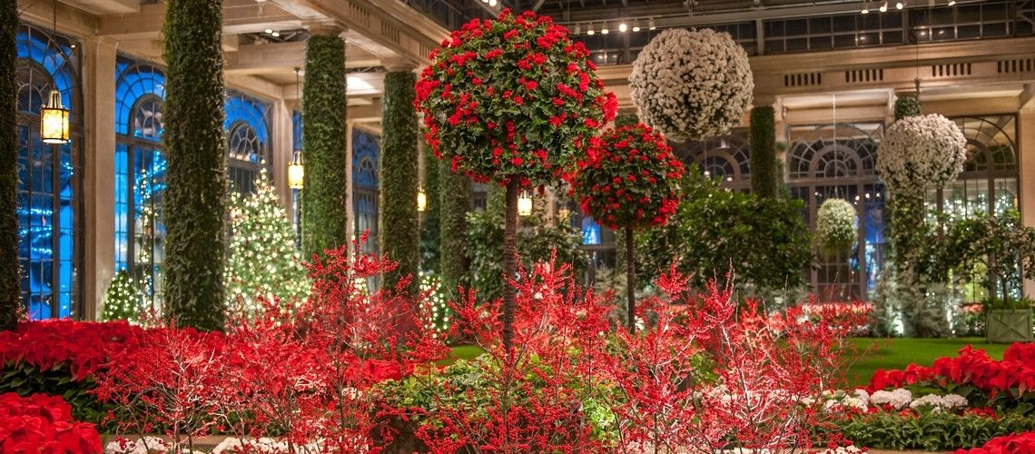 A Longwood Christmas Longwood Gardens Kennett Square Pa Through Jan 10 Holiday Lights And