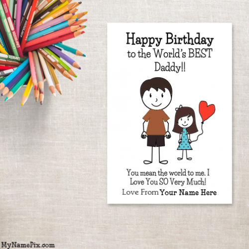 Pin On Happy Birthday Card With Name