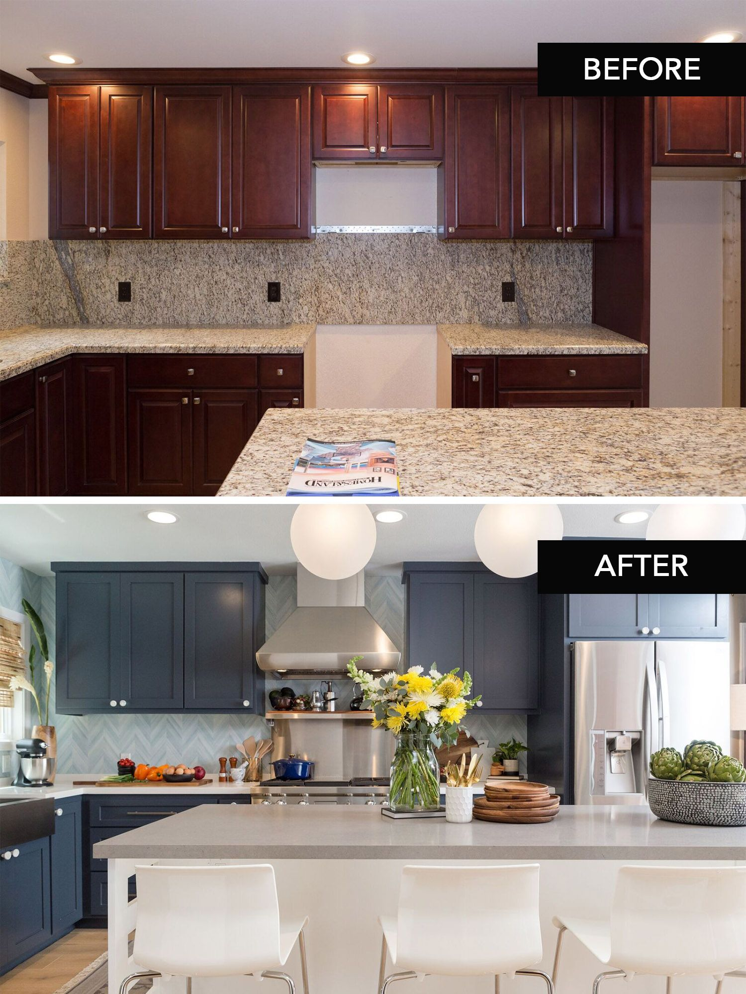 A stunning kitchen transformation by Jasmine Roth on HGTV's ...