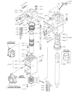 Rammer Furukawa Atlas Copco Hammer Parts Parts List F19 Hydraulic Breaker Furukawa Hammer In 2020 Hydraulic Breaker Hydraulic Furukawa