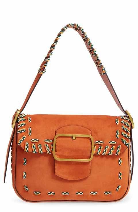0097993c76c2 Tory Burch Sawyer Stitch Suede Shoulder Bag