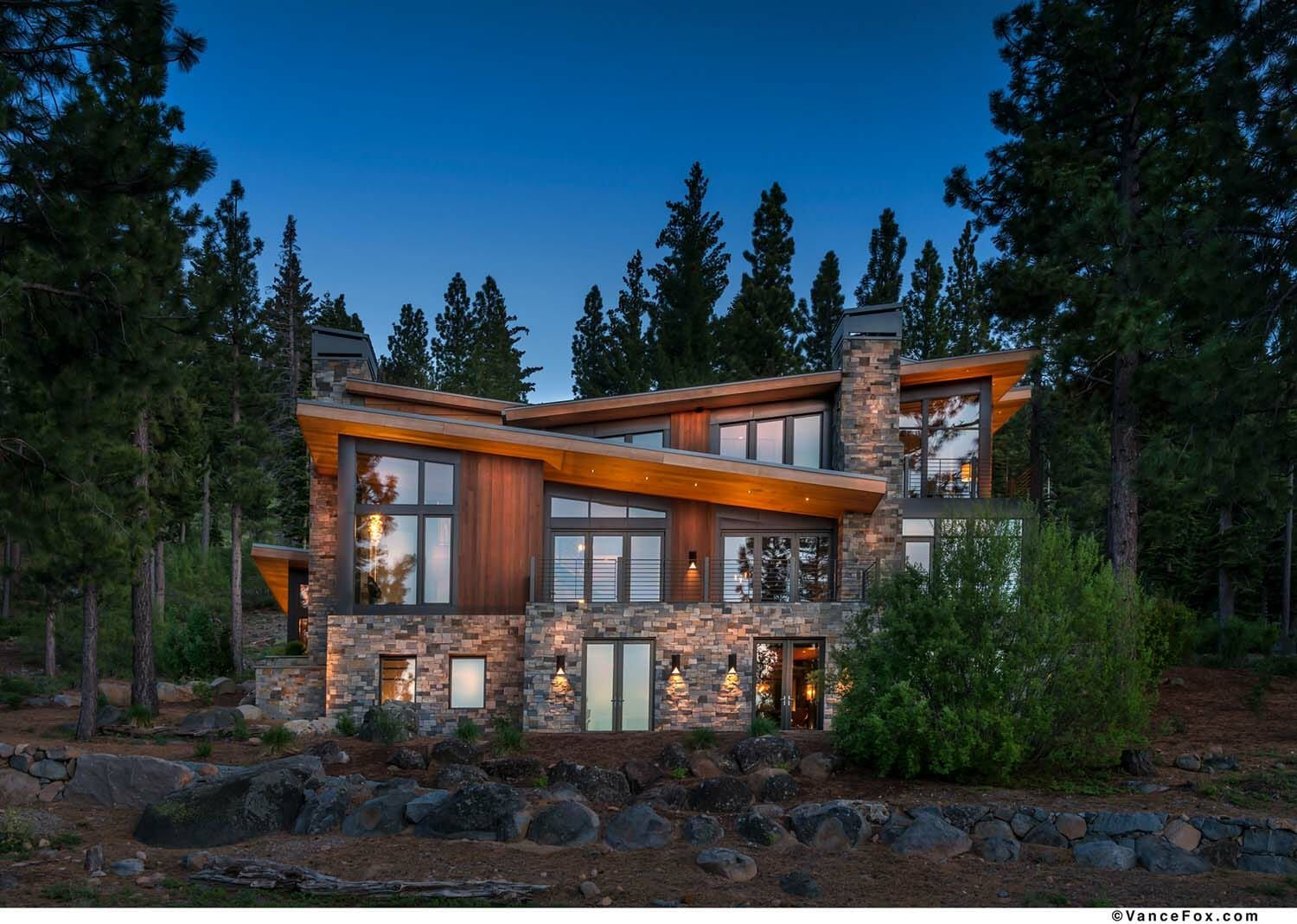 Northern California mountain retreat displays impressive ...