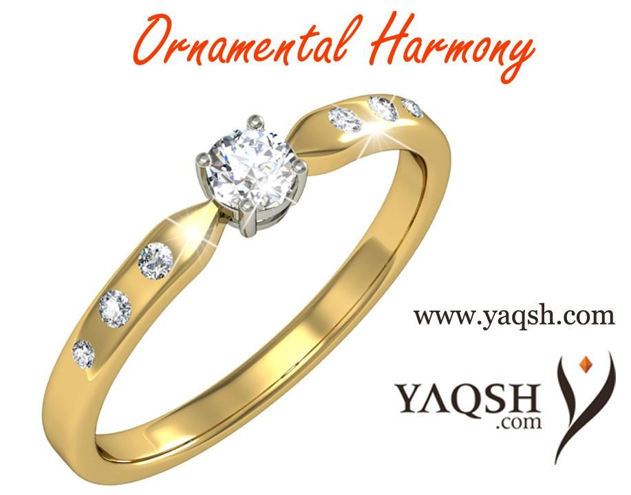Buy jewellery online in india at Yaqsh – Buy online Solitaire