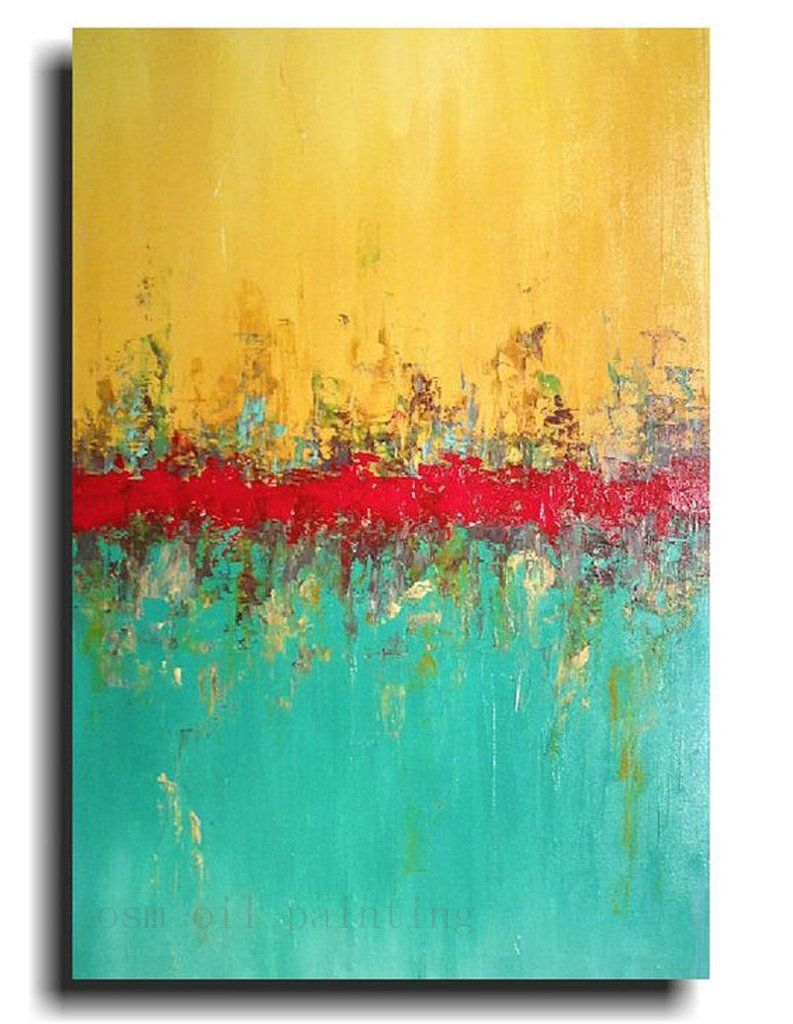 Modern Abstract Painting Sale | $86.08 | Best Deals Unique Decor ...
