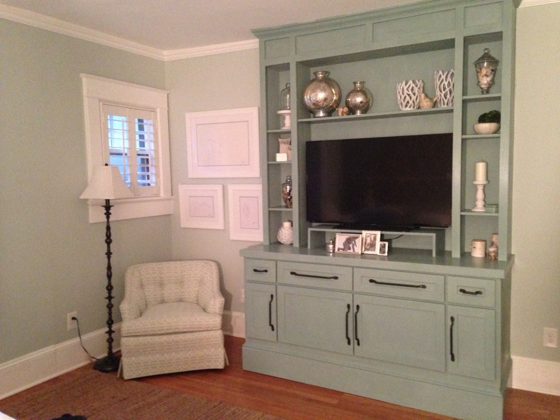 Duck Egg Blue w/clear wax | Painting cabinets, Chalk paint ...