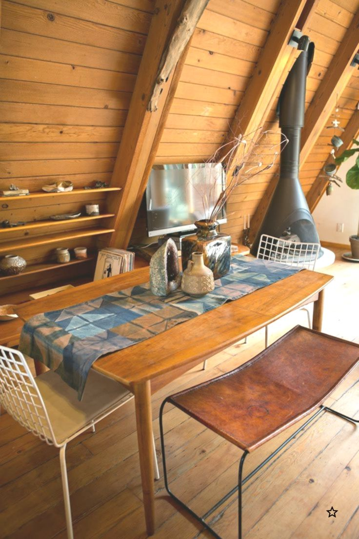 House Tour An Artists 1963 Aframe Lux Lodge