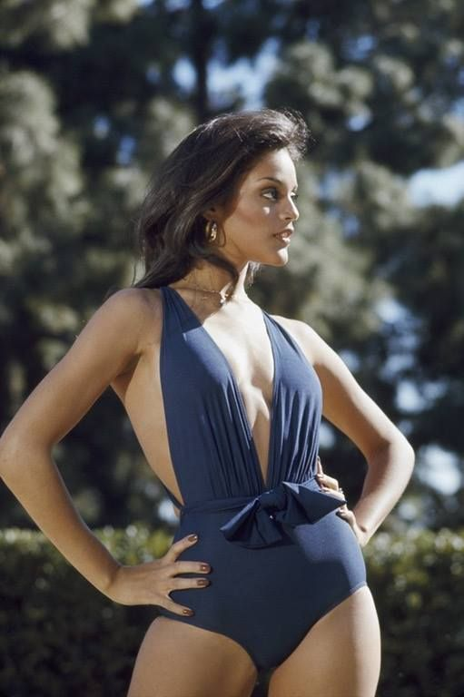 Jayne Kennedy In The 80s Vintage Black Glamour Women