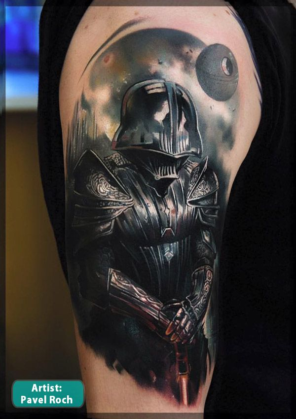 bf5079f2db Darth Vader Star War Tattoos - Best Tattoos In The World Best Tattoos .