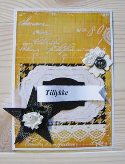 Blomsterbox: Orange/sort kort