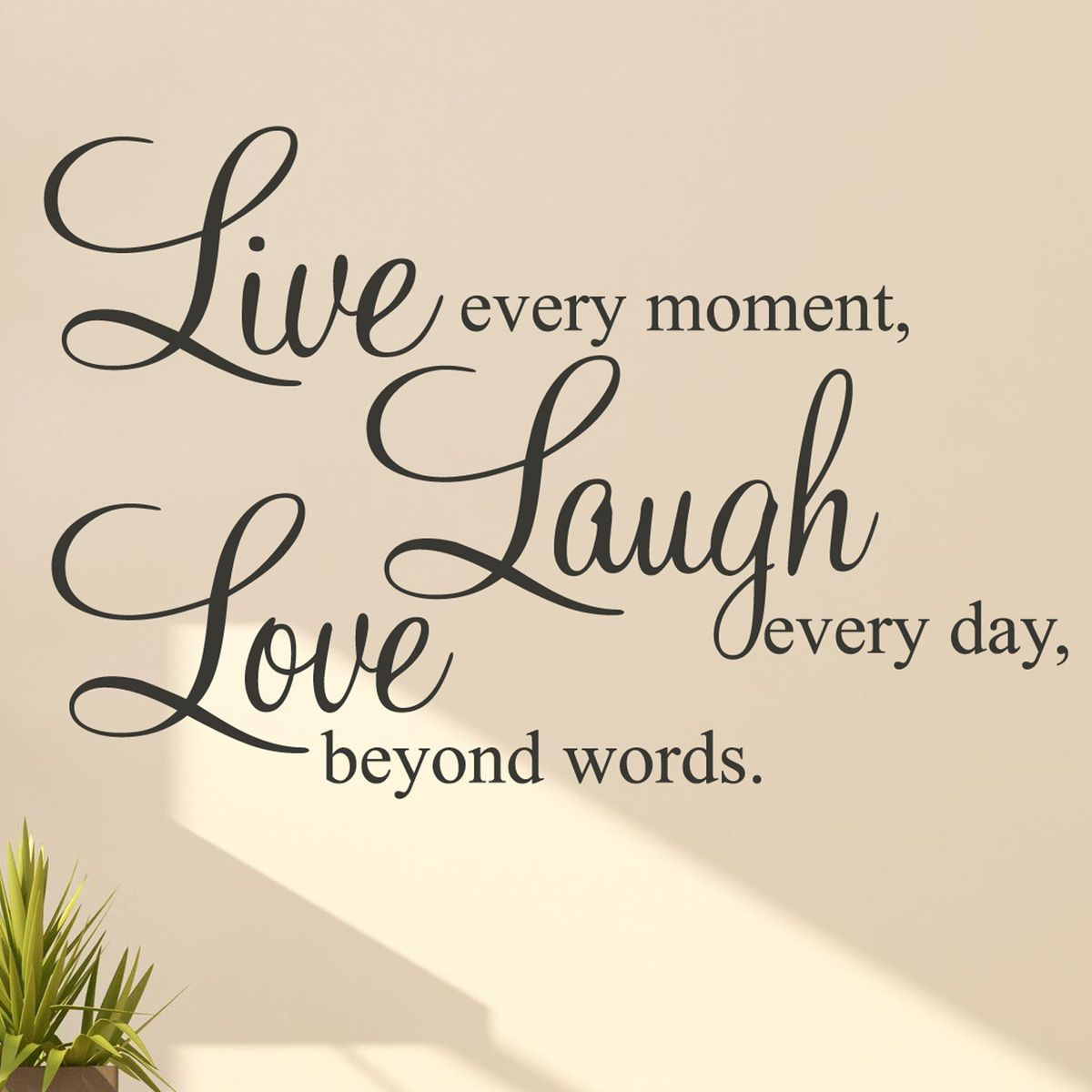 Live laugh loveu wall stickers quotes walls house and room
