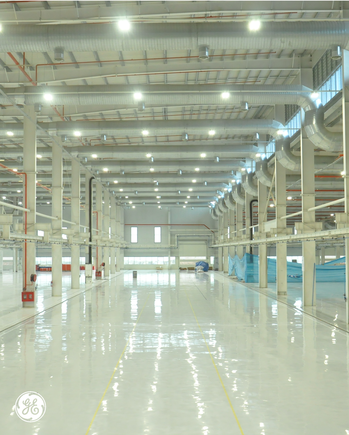 Advantages Of Using Led High Bay Lighting In Warehouses: GE's Pune, India, Facility Installed Energy-efficient LED