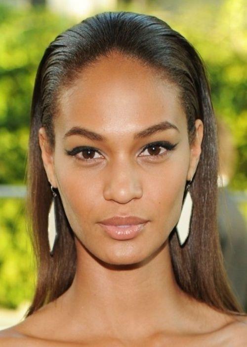 Top 100 Hairstyles 2014 For Black Women Herinterest Com Slick Hairstyles Wet Look Hair Long Hair Styles
