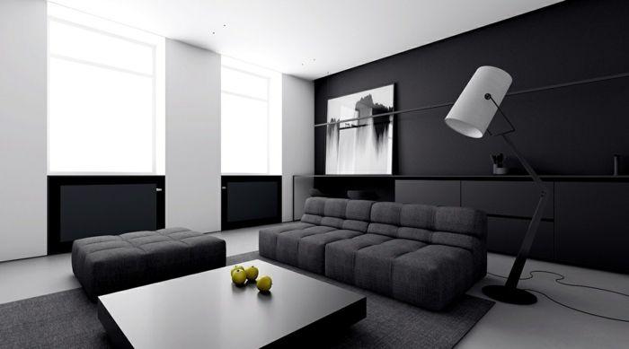 1001  ideas de decoracin de salones minimalistas  Salones  Home Decor Decor Sofa