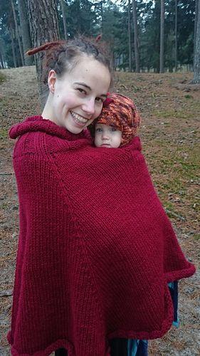 Ravelry: Babywearing Poncho / Draagponcho pattern by Marjolein ...