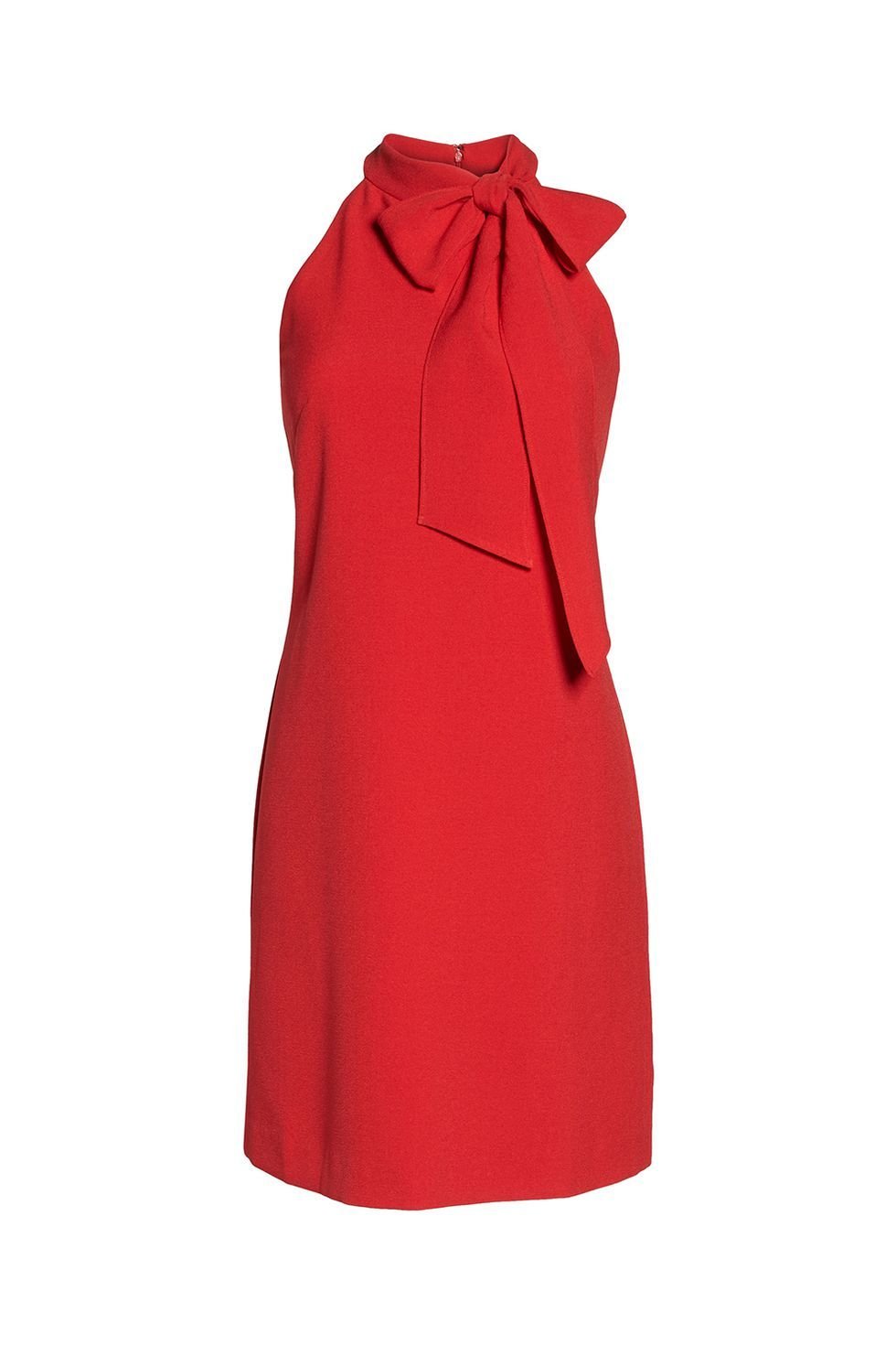 bc46914d8d A bright red dress. Vince Camuto, $138 You can definitely get away with a  minidress for semi-formal cocktail affairs. To keep your outfit modest,  however, ...