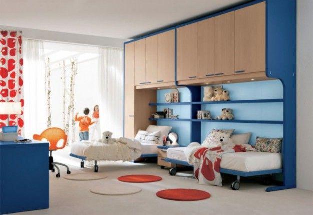 armadio a ponte Camerette per bambini | Camerette | Pinterest ...