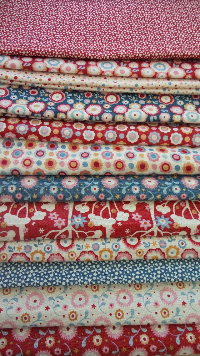 Tilda Candy Bloom , Tilda Fabric, Candy Bloom Fabric, Tilda, 12 ... : online quilting fabric stores australia - Adamdwight.com