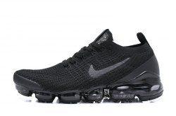 c4cac76becf9e Nike Air VaporMax Flyknit 2019 Black Men s Women s Running Shoes -  NikeLine.com