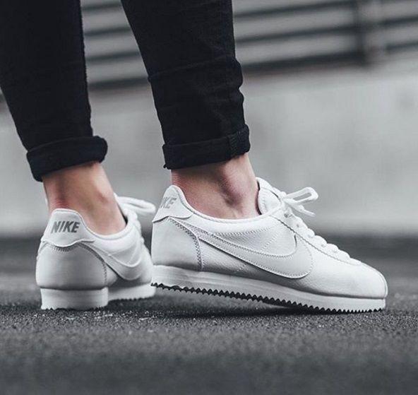 zapatillas blancas nike cortez