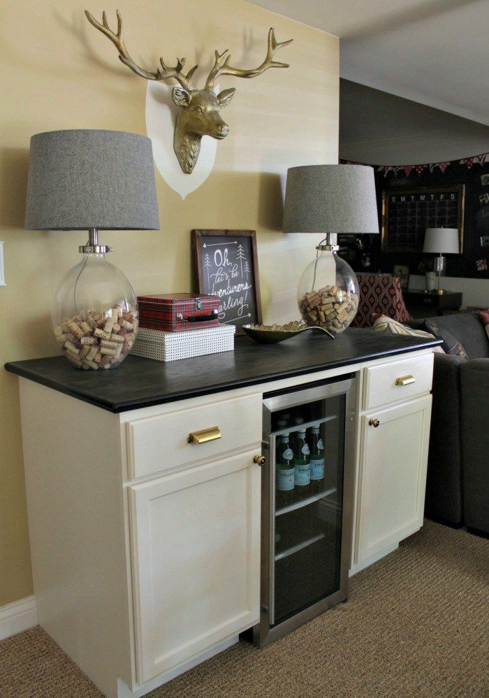 Fifth House Tour Dorm fridge, Home, Kitchen remodel