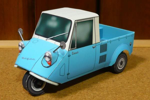 The Mazdago Or K360 Was A Three Wheeled Open Truck First