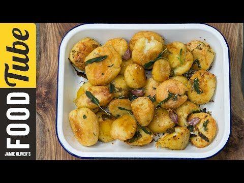 Roast Potatoes Three Ways | Jamie Oliver - YouTube