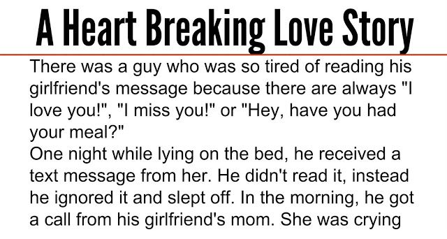 There Was A Guy Who Was So Tired Of Reading His Girlfriend S Message Because There Are Always I Love You Ignore Me Quotes Ignore Text He Has A Girlfriend