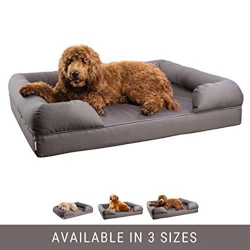 Petlo Orthopedic Pet Sofa Bed Dog Cat Or Puppy Memory Foam