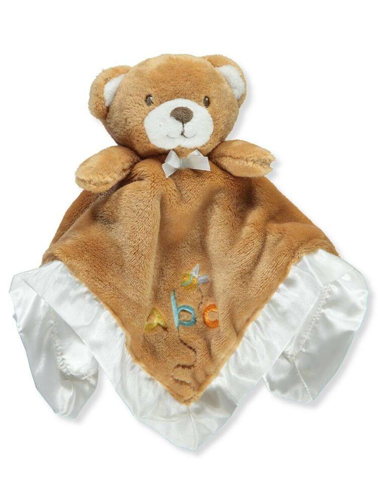 Hudson Baby Security Blanket Pink Bunny Girls Gift Shower 14 x 14 Soft L20 M