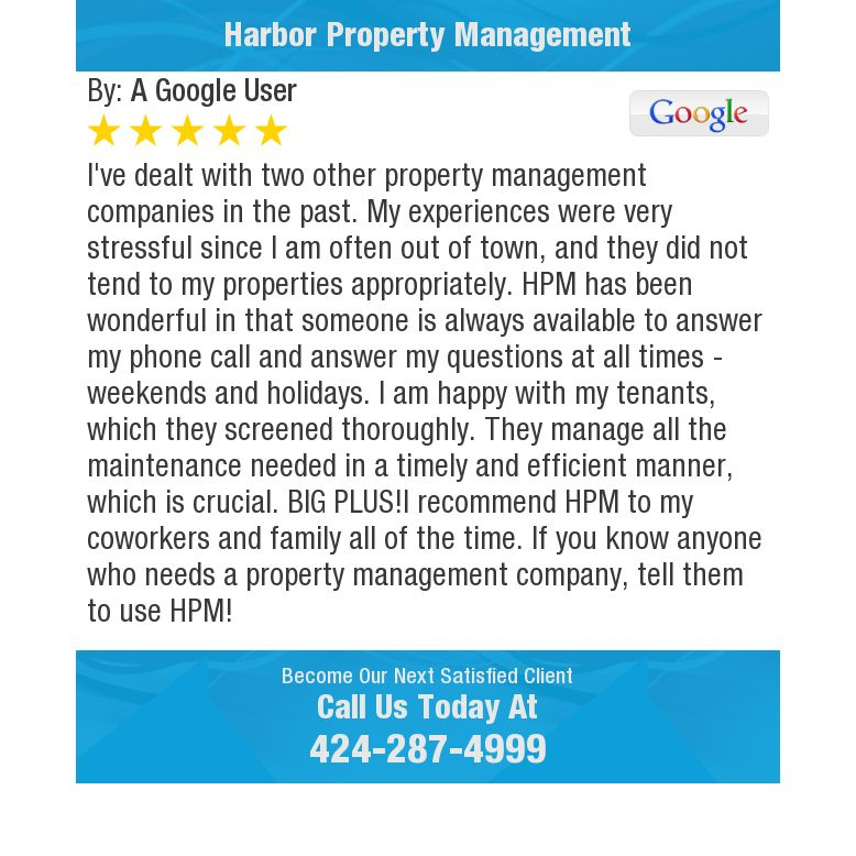 I've dealt with two other property management companies in