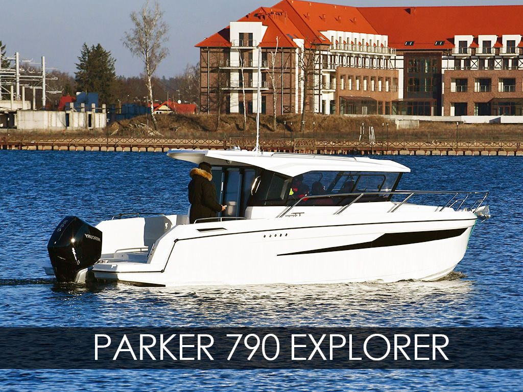 We're presenting the new model of Parker boats  The