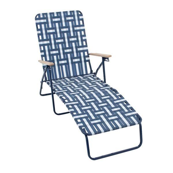 Rio Creations Web Chaise Lounge Blue