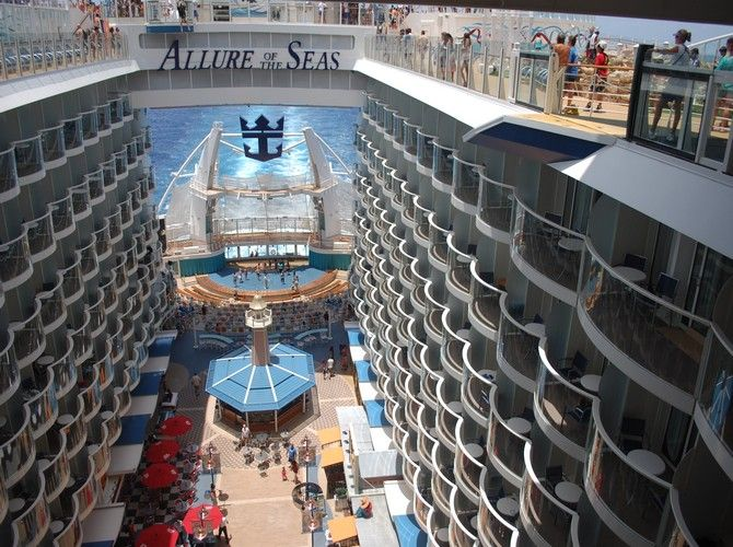 The Biggest Cruise Ship In the World.