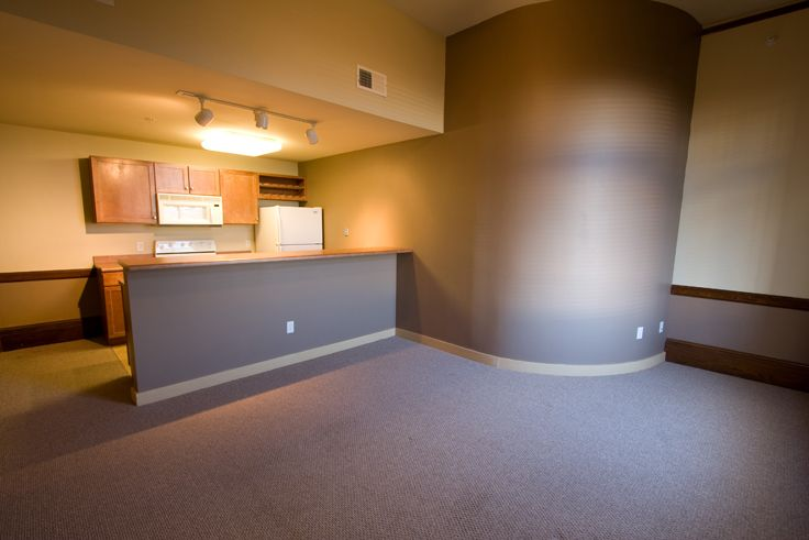 Luxury Apartments In Lincoln Nebraska Cozy 1 Bedroom Apartment Open Concept Living The Downtown Downtown Apartment Bedroom Apartment One Bedroom Apartment