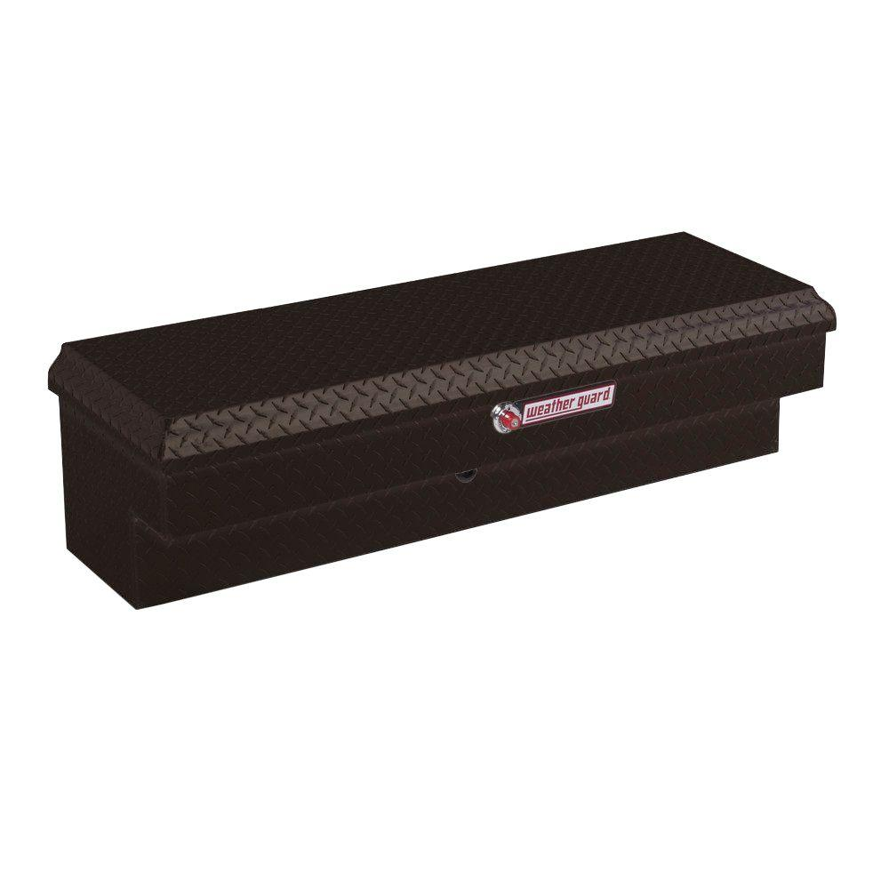 Short Aluminum Lo-Side Truck Box in Black