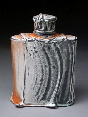 Matt Long Ceramic Flask Matt Long Ceramic Bottle