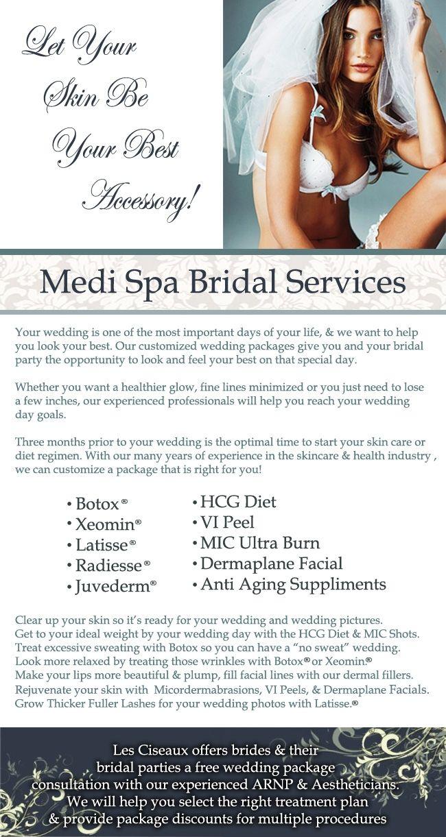 Bridal Medi Spa Services   Les Ciseaux Salon and Spa   Les