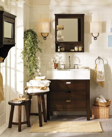 Matilda Wall Cabinet Pottery Barn Bathroom Pottery Barn