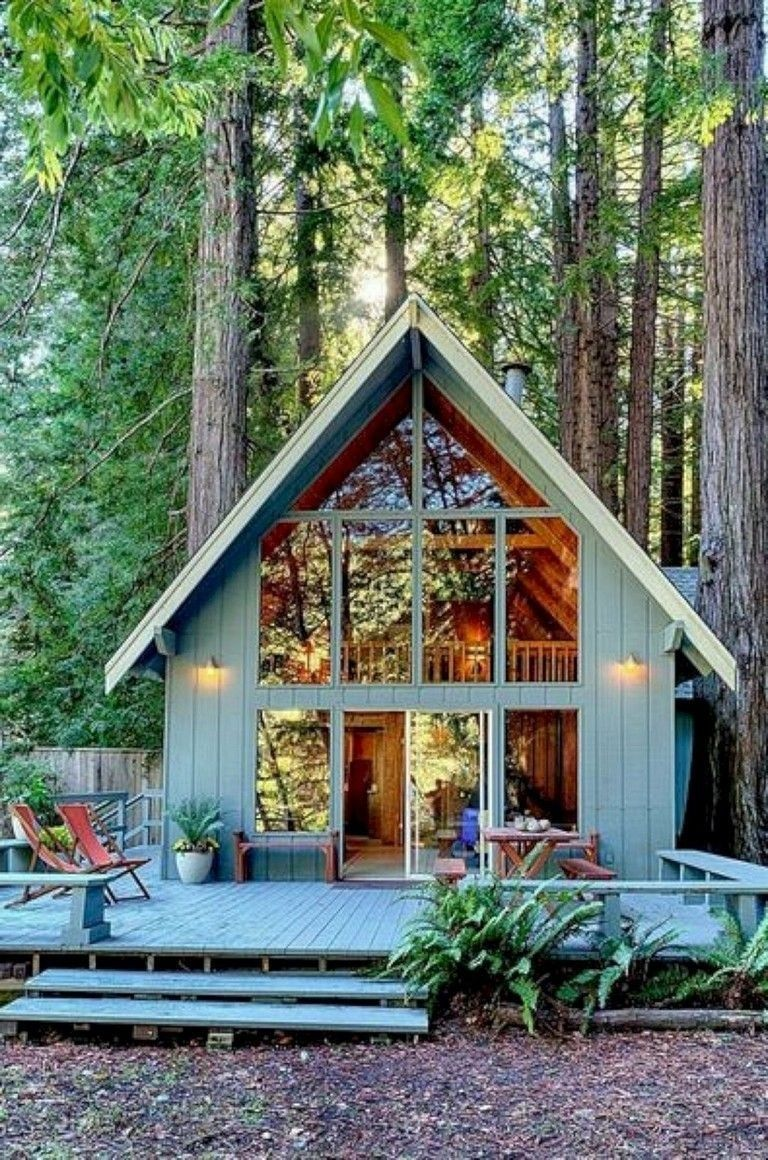 15 Amazing Tiny Houses Design That Maximize Style And Function From 72 Mountain Chalet House Plans Best Tiny House Cabins And Cottages Cottage Plan