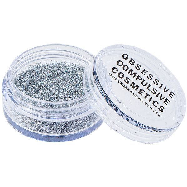 Obsessive Compulsive Cosmetics Cosmetic Glitter (20 CAD) ❤ liked on Polyvore featuring beauty products, makeup and beauty
