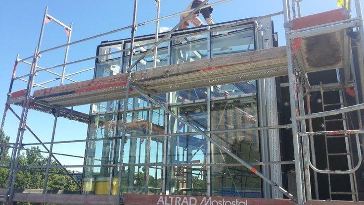 Rondo Kaponiera Sesko / facades, windows, aluminum doors and …