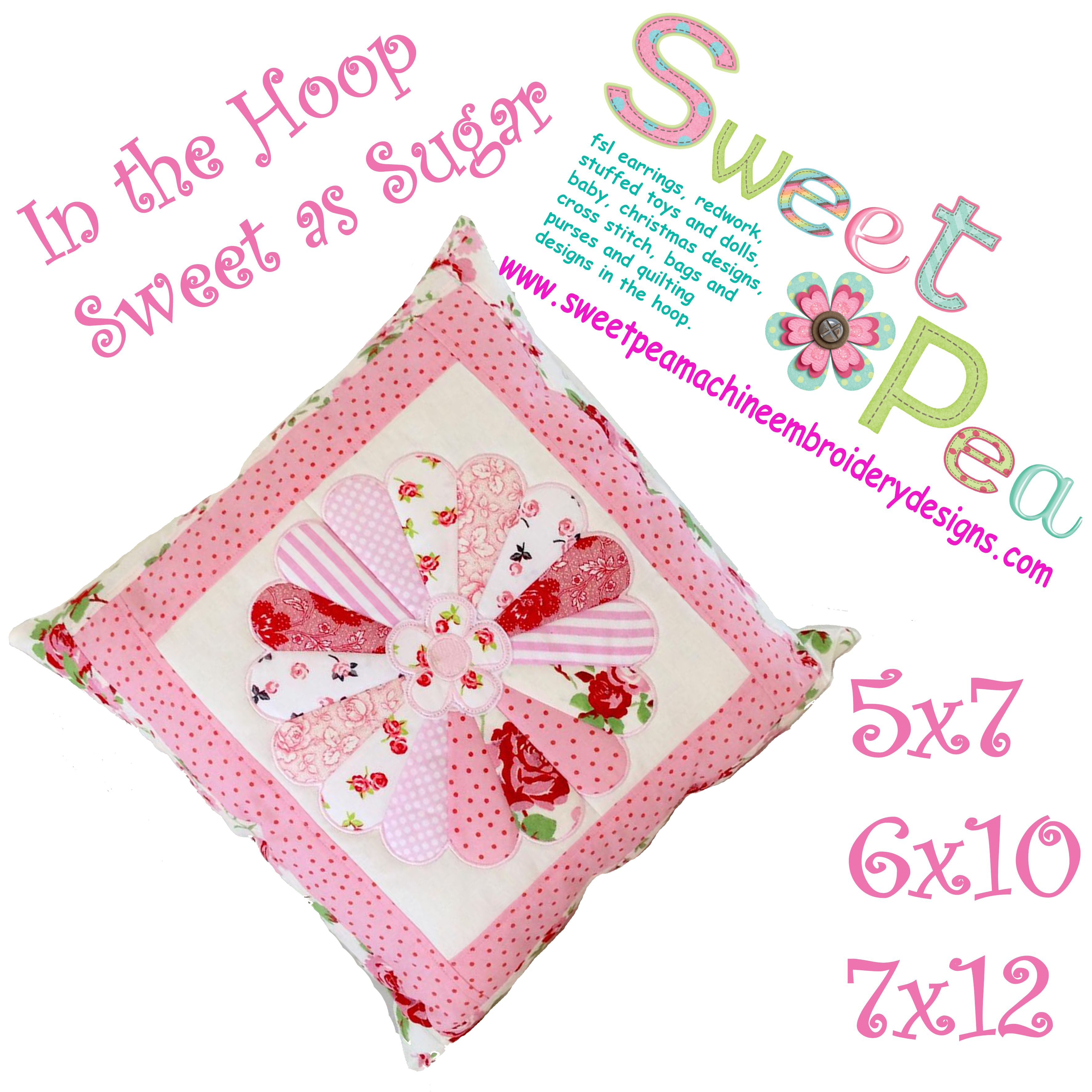 sweet pea embroidery # 37