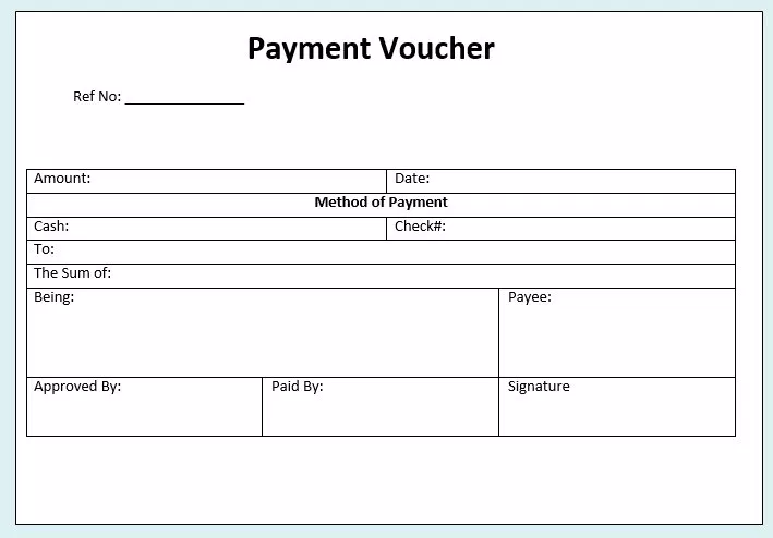 Sample Voucher Template from i.pinimg.com