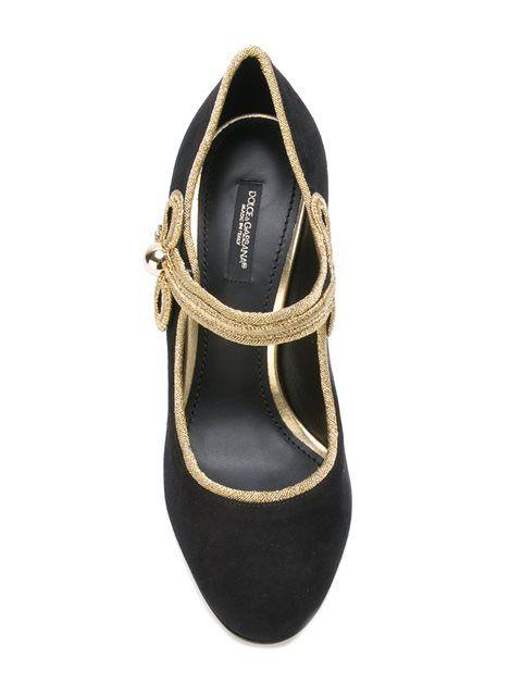 Shop Dolce & Gabbana 'Vally' pumps.