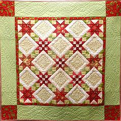 Star Quilts for Christmas