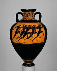 Athenian Games Arte Griego Antiguo Ceramica Pintada Grecia Antigua